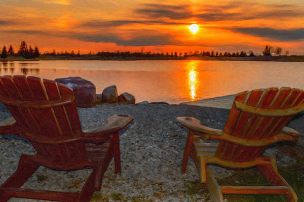 Photograph - Cottage Time by Garvin Hunter