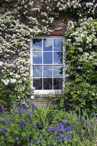 English Cottage Photograph - Cottage Window by Joana Kruse