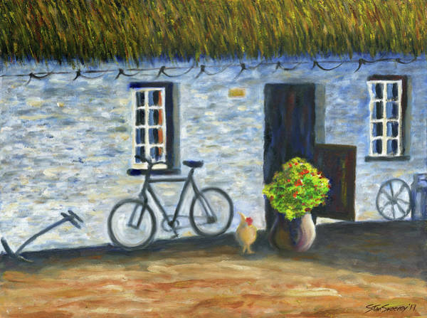 Painting - Cottage Life by Stan Sweeney