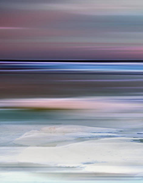 Photograph - Cotton Candy Beach Triptych Left by Evie Carrier