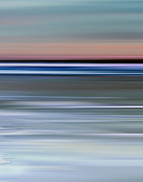 Photograph - Cotton Candy Beach Triptych Right by Evie Carrier