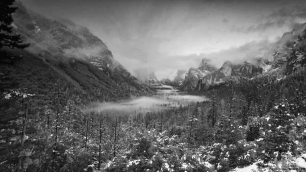 Photograph - Cotton Candy Blankets Yosemite by Lora Lee Chapman
