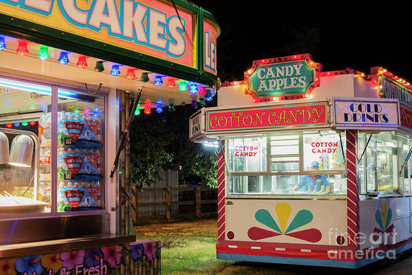 County Fair Wall Art - Photograph - Cotton Candy by Juli Scalzi