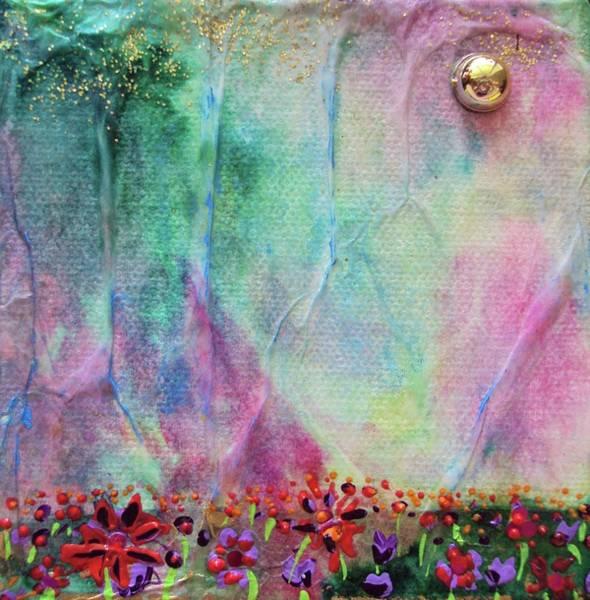 Ish Wall Art - Mixed Media - Cotton Candy  by Shawna Scarpitti