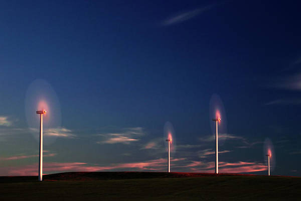 Wind Farm Photograph - Cotton Candy by Todd Klassy