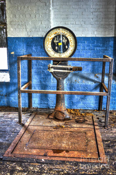 Photograph - Cotton Scales Mary Leila Cotton Mill by Reid Callaway
