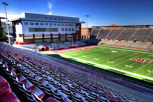 Photograph - Cougar Football Complex At Martin Stadium by David Patterson