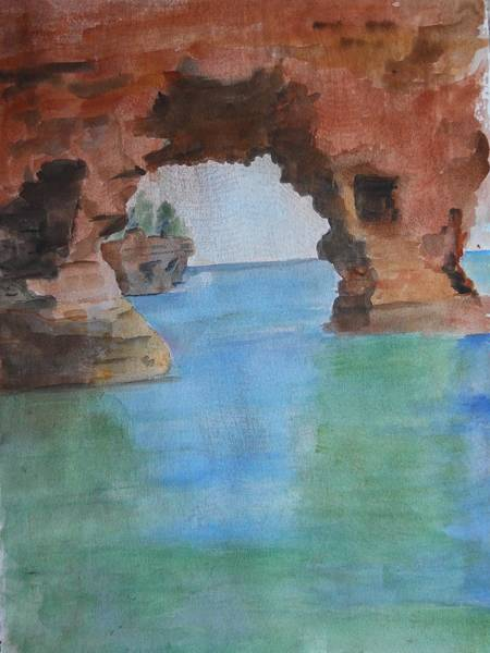 Painting - Could Be The Dells by Audrey Bunchkowski