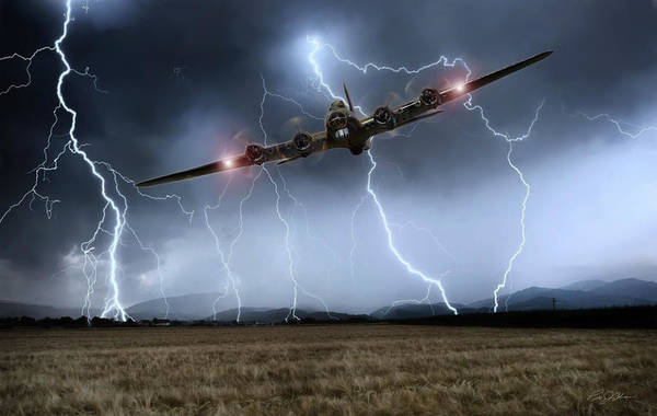 Battle Of Britain Digital Art - Couldn't Stand The Weather by Peter Chilelli