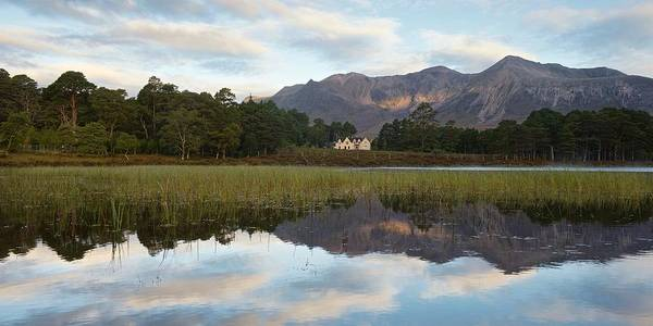 Photograph - Coulin Lodge by Stephen Taylor