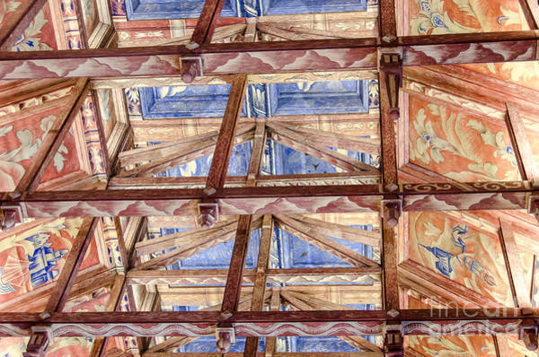 Photograph - Council Chamber's Ceiling In The City Hall Of Stockholm by RicardMN Photography