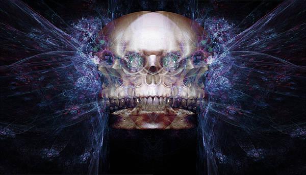 Humanity Digital Art - Council Of Skulls by Bear Welch
