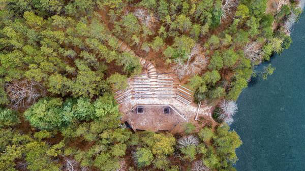 Cachalot Wall Art - Photograph - Council Ring From Above by Dennis Wilkinson
