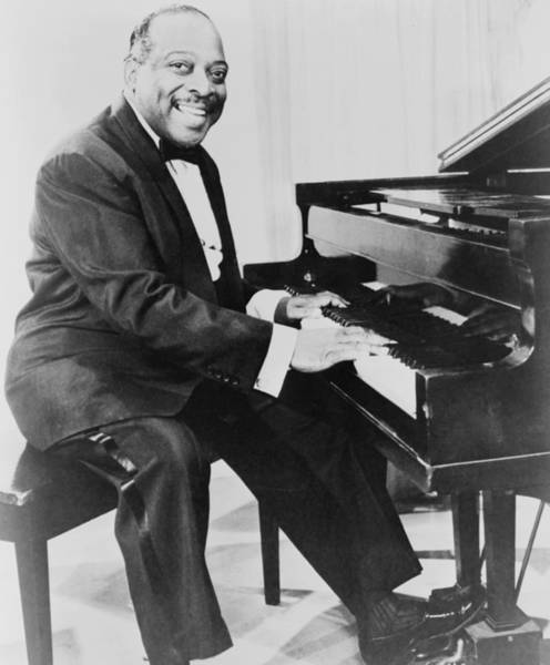 Wall Art - Photograph - Count Basie 1904-1984, African American by Everett