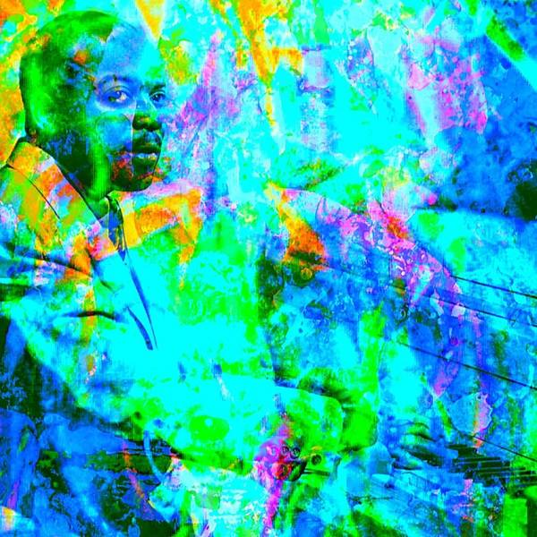 Count Digital Art - Count Basie by Brian Broadway