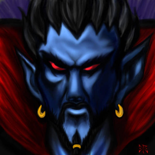 Count Digital Art - Count Vladric by Christopher Robin