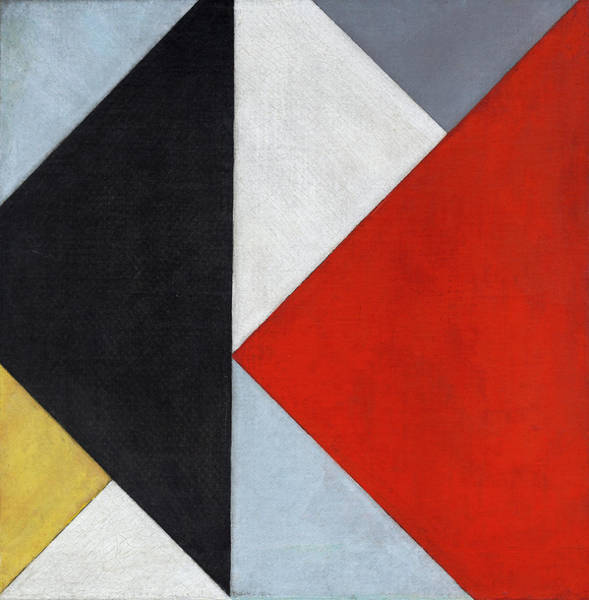 De Stijl Painting - Counter-composition Xiii by Theo van Doesburg