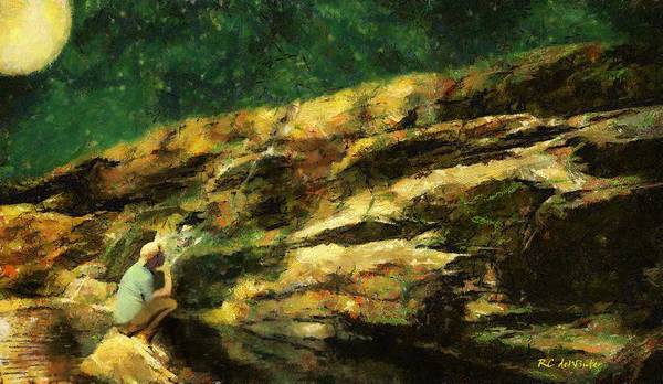 Painting - Counting Stars by RC DeWinter