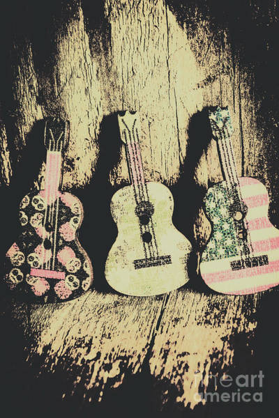 Grunge Music Wall Art - Photograph - Country And Western Saloon Songs by Jorgo Photography - Wall Art Gallery