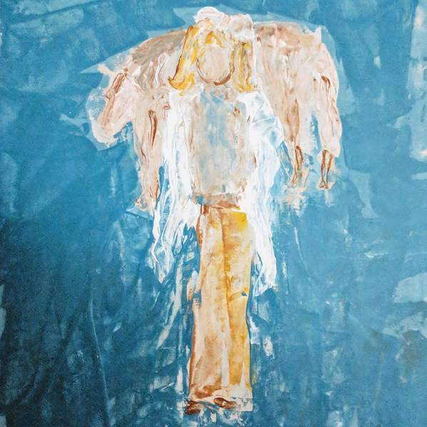 Wall Art - Painting - Country Angel by Jennifer Nease