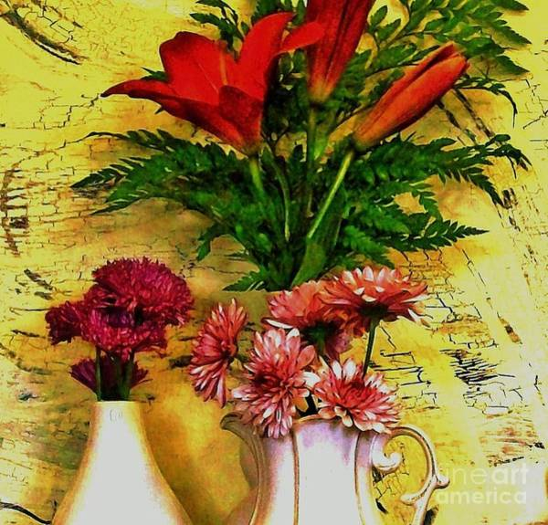 Tigerlily Wall Art - Photograph - Country Bouquets by Marsha Heiken