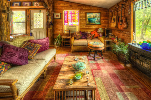 Country Cabin Art Print