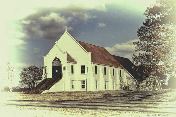 Photograph - Country Chapel by Bonnie Willis
