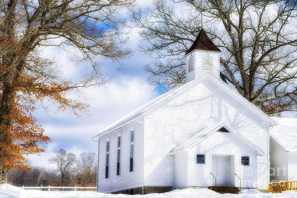 Photograph - Country Church Aglow by Thomas R Fletcher