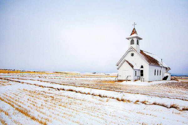 Cross Country Photograph - Country Church by Todd Klassy