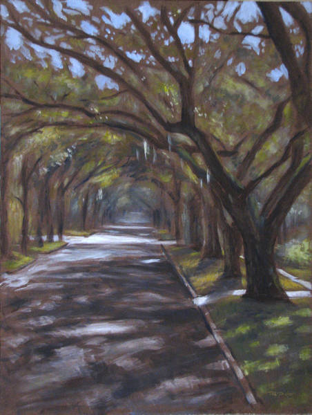 Painting - Country Club Road by Christopher Reid