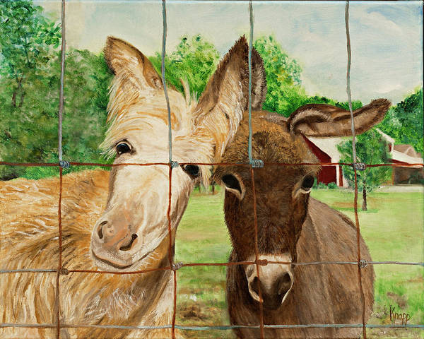 Painting - Country Companions by Kathy Knopp
