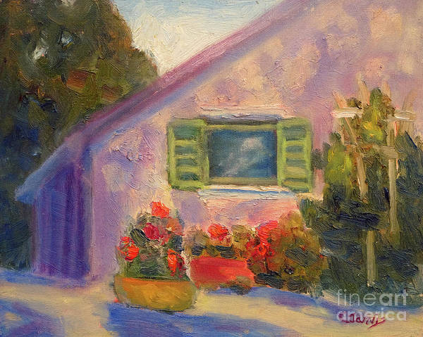 Painting - Country Cottage by Carolyn Jarvis