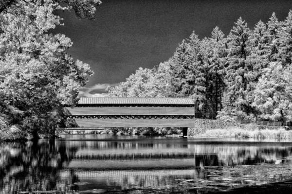 Wall Art - Photograph - Country Covered Bridge by Paul W Faust -  Impressions of Light
