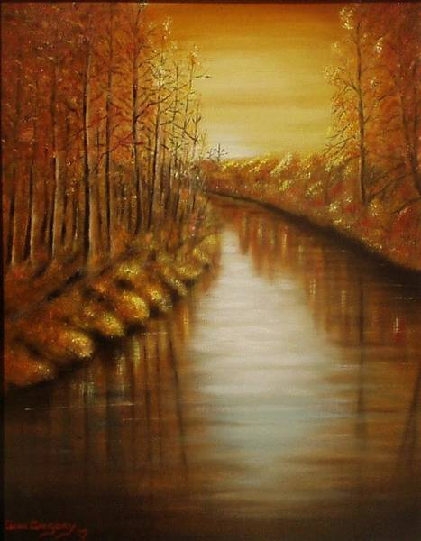 Painting - Country Creek by Gene Gregory