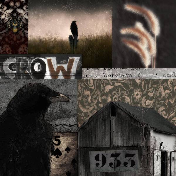 Wall Art - Photograph - Country Crow Collage  by Gothicrow Images