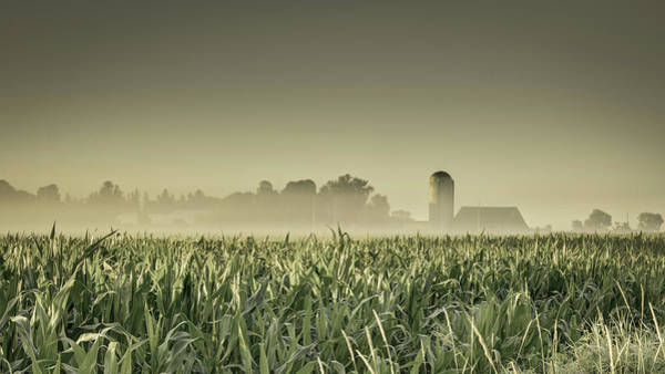 Photograph - Country Farm Landscape by Nick Mares
