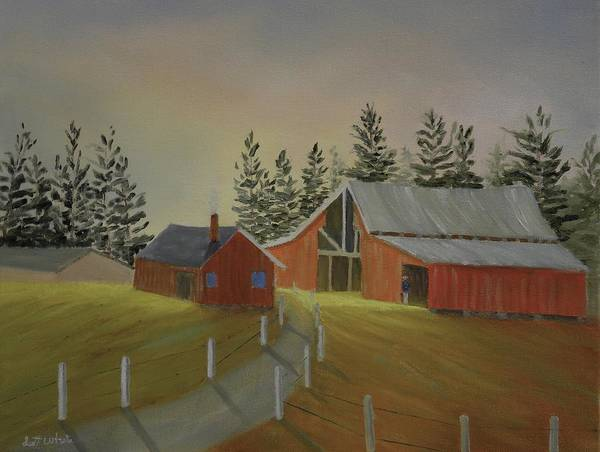 Country Farm Art Print