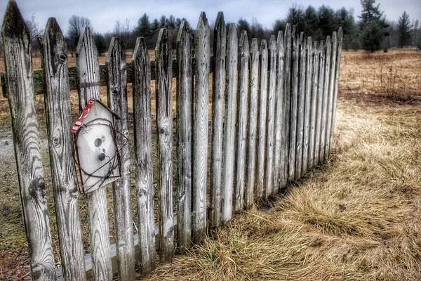 Photograph - 6004 - Country Fences I by Sheryl Sutter
