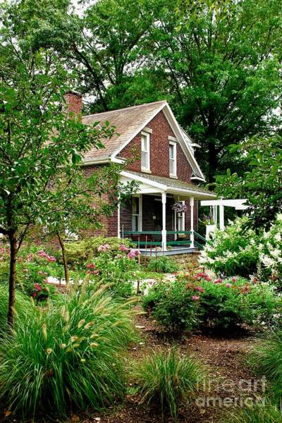 Photograph - Country Home by The Art of Alice Terrill