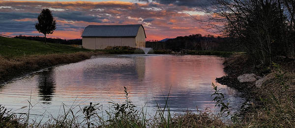 Photograph - Country Living Sunset Cropped by Lara Ellis
