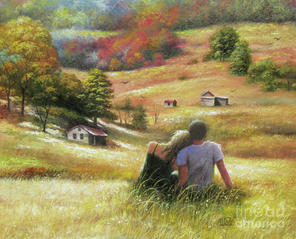 Wall Art - Painting - Country Lovers II				 by Vickie Wade