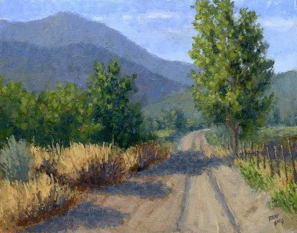 Painting - Country Morning by David King