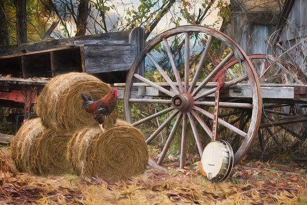 Photograph - Country Music II by Robin-Lee Vieira