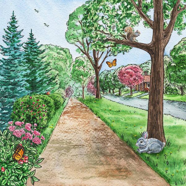 Painting - Country Path by Irina Sztukowski