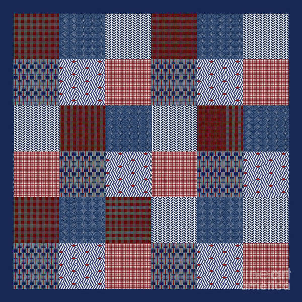 Wall Art - Digital Art - Country Quilt by Jean Plout