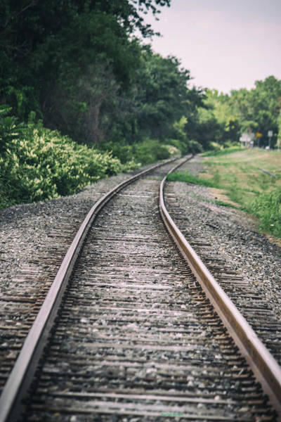 Photograph - Country Railroad Track by Roberta Byram