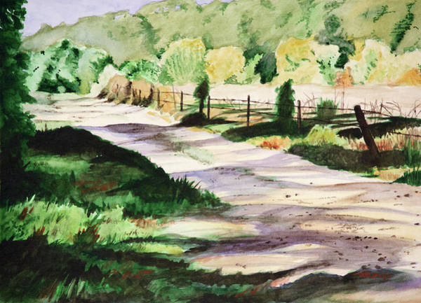 Painting - Country Road by Christopher Reid