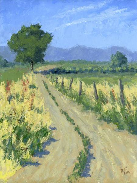 Painting - Country Road by David King