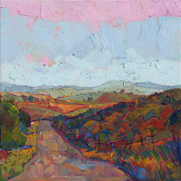 Wall Art - Painting - Country Road by Erin Hanson