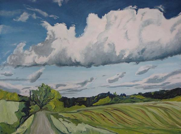 Wall Art - Painting - Country Road by Francois Fournier